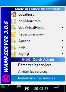 Installation de WAMP sur Windows 10